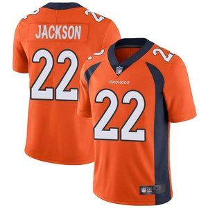 Broncos Kareem Jackson Orange Jersey